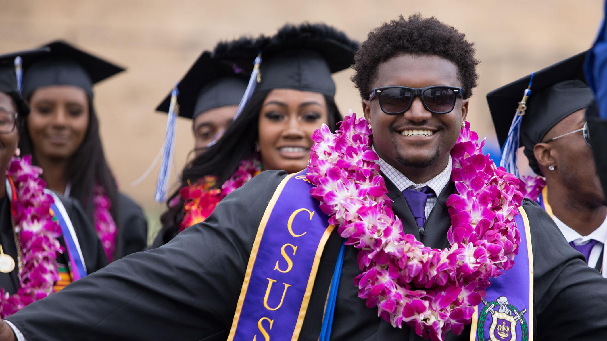 Dwaine Collier at Commencement