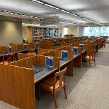 Empty Library spaces