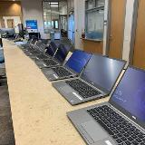 laptops ready for equipment checkout 1