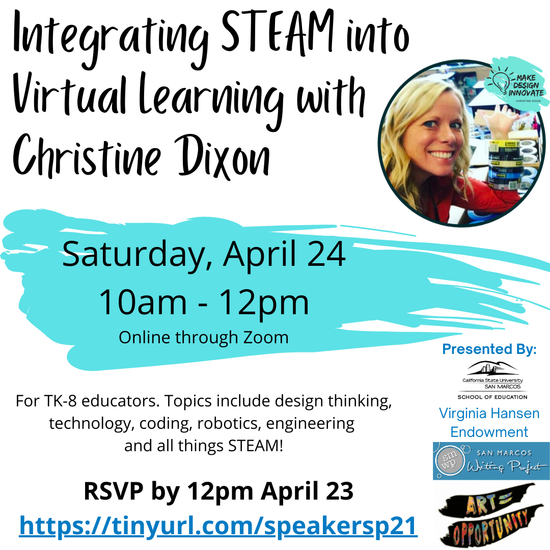Integrating STEAM into Virtual Learning with Christine Dixon