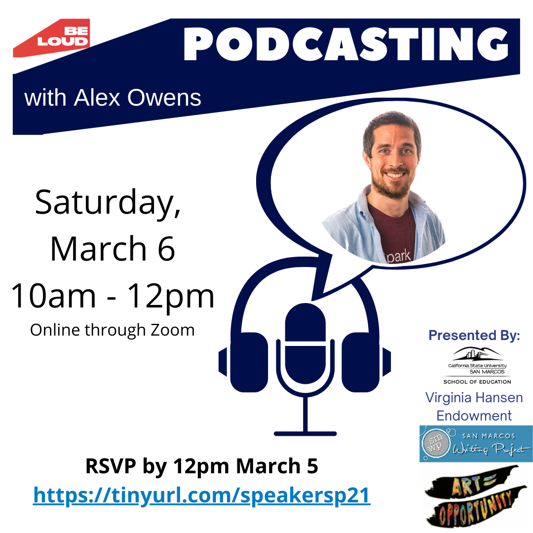 Podcasting with Alex Owens