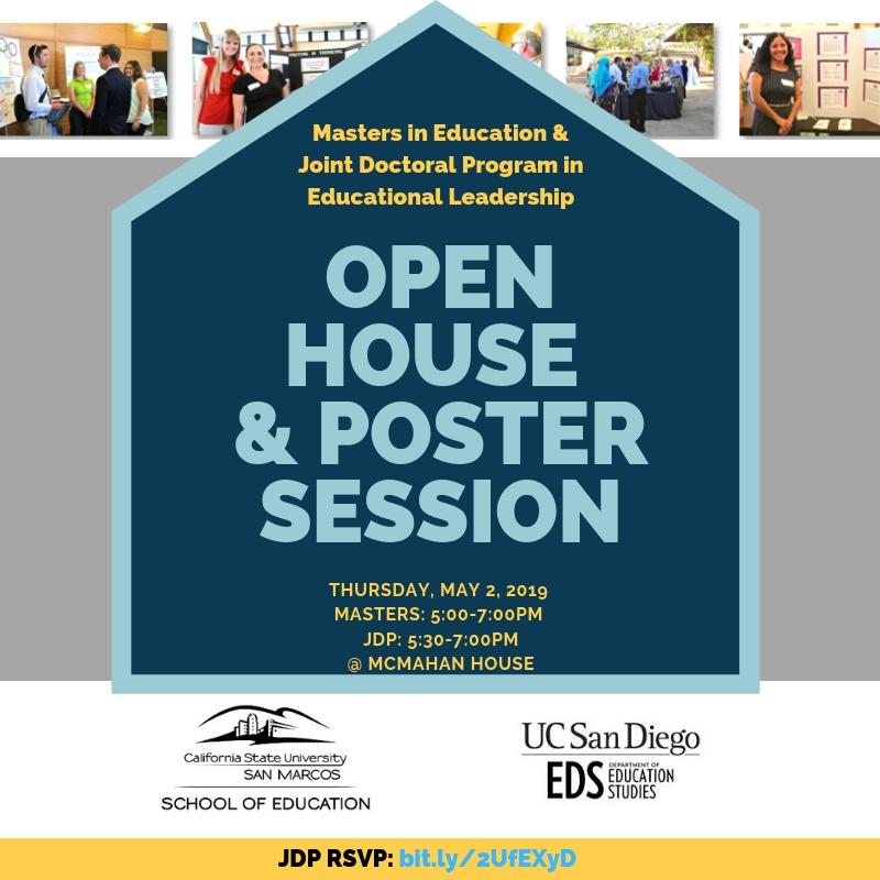 Poster Session and Open House Spring 2019
