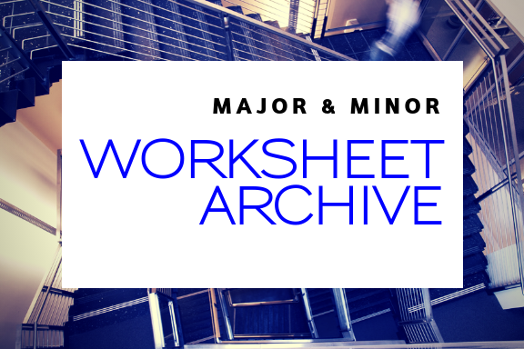 Worksheet Archive