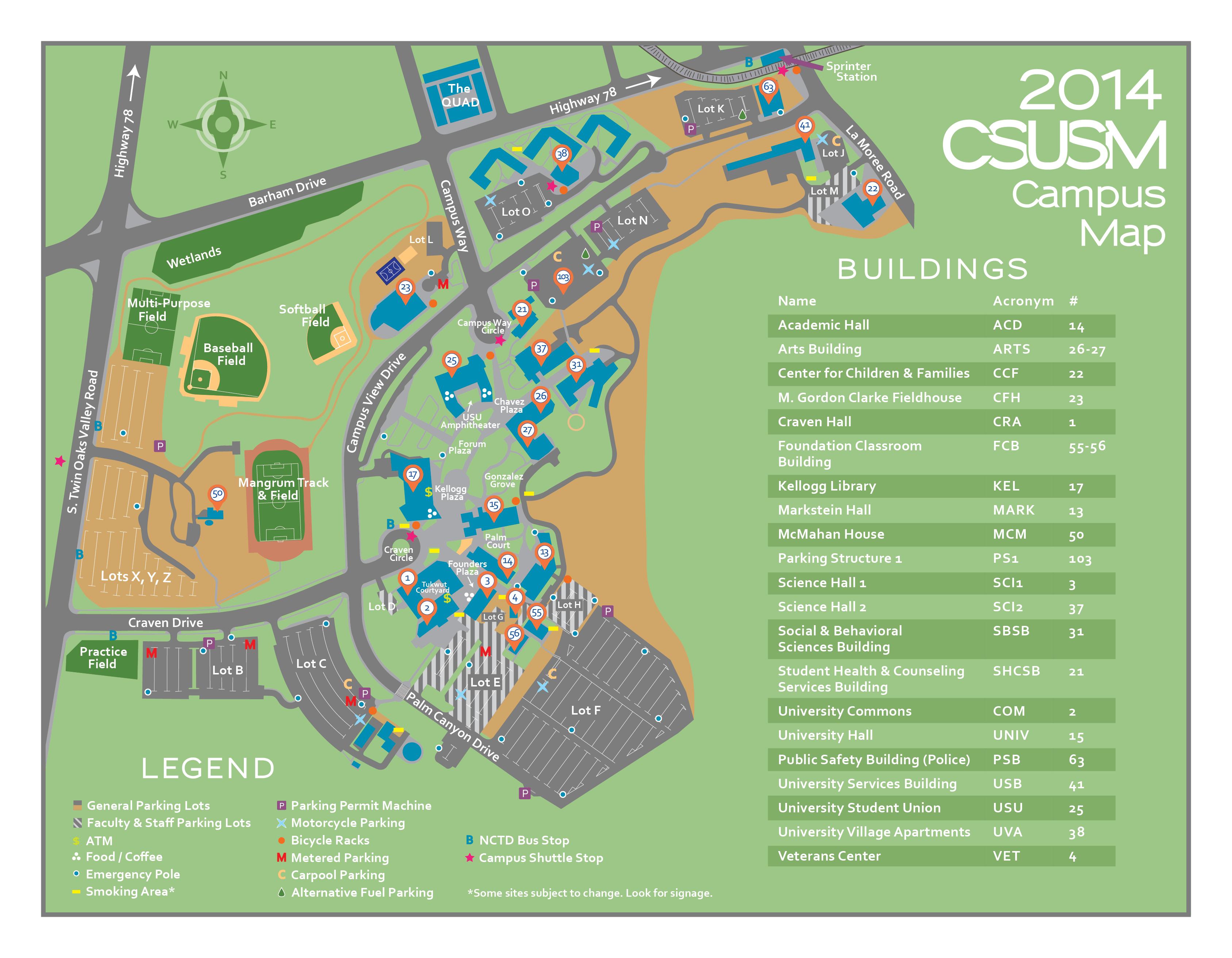 Hours & Location | CSUSM