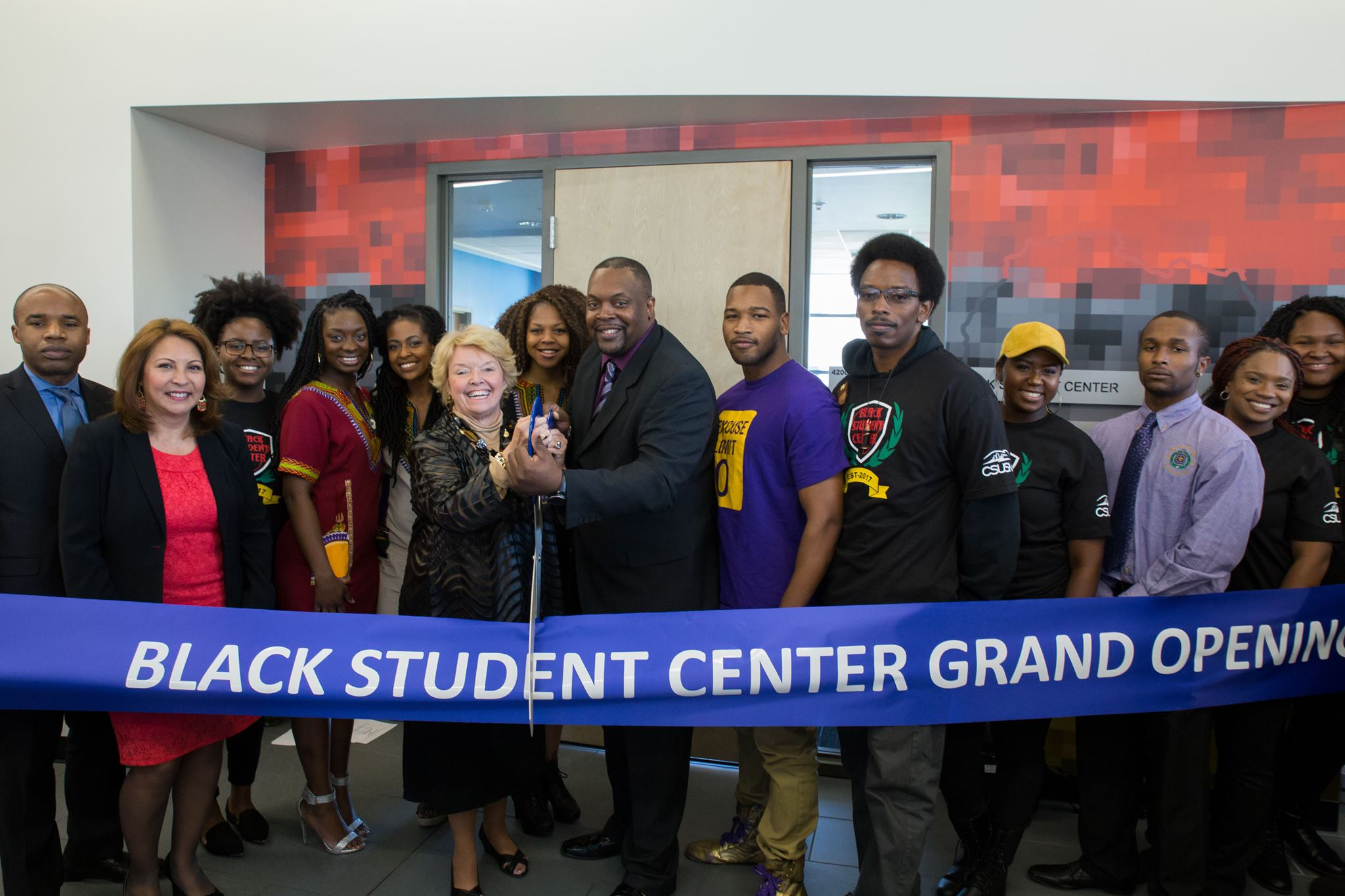 The Black Student Center Grand Opening