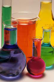 Colored glassware