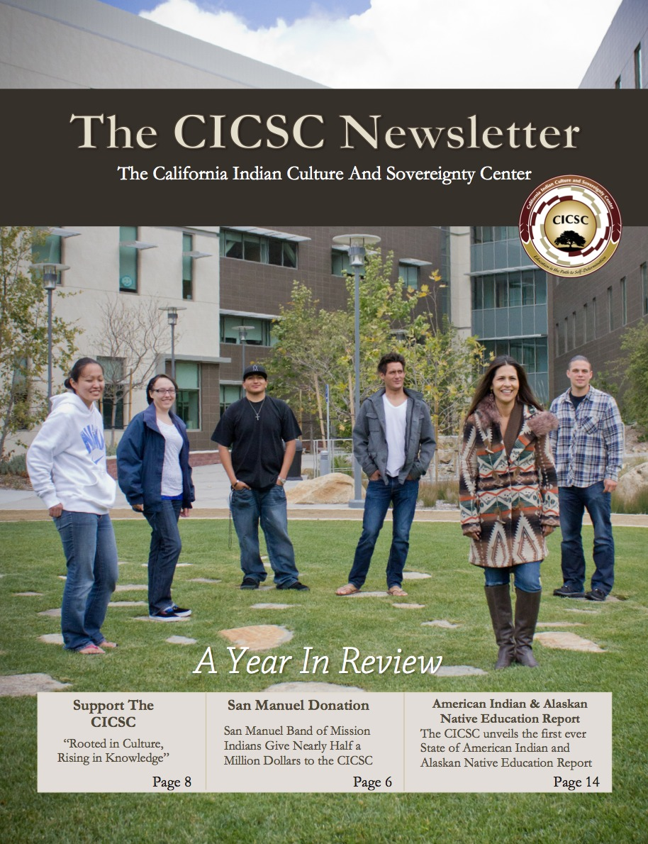 CICSC Newsletter Cover