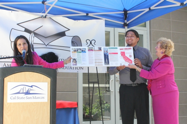 unveiling of luiseno college poster