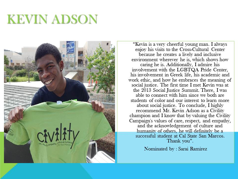 KEVIN ADSON