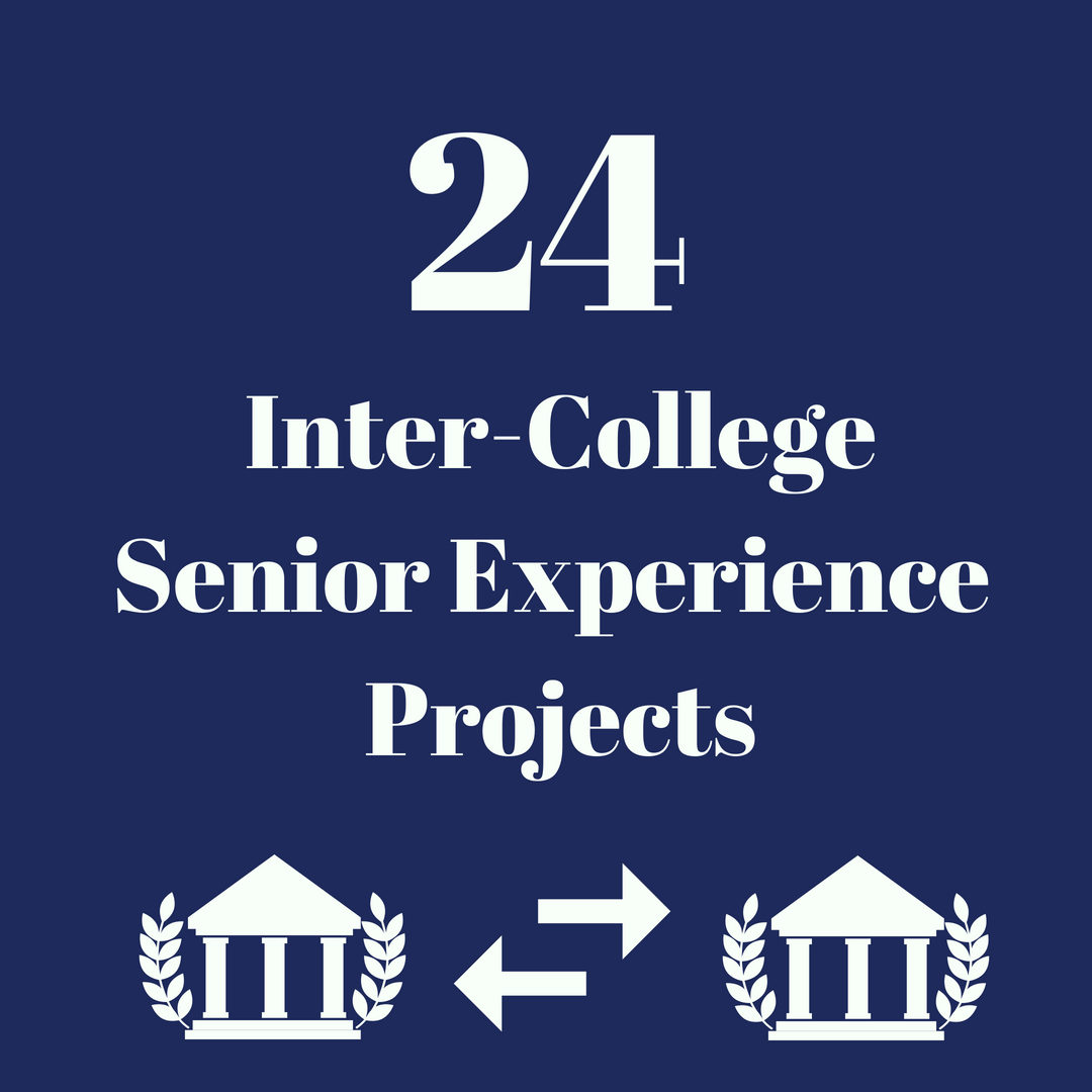 24 Inter-College projects have been completed