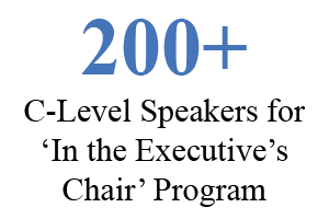 200+ C-Level Speakers for the