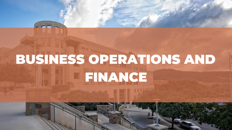 business operations and finance
