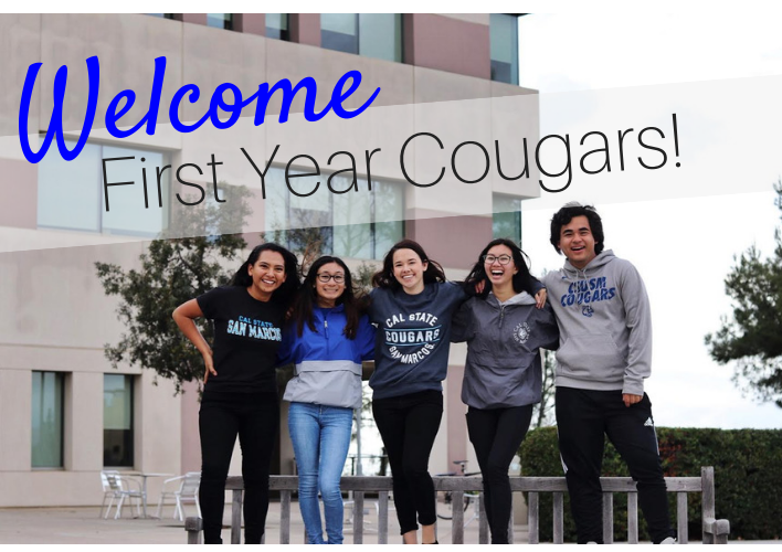 Welcome first year Cougars!