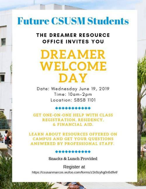 Dreamer Welcome Day