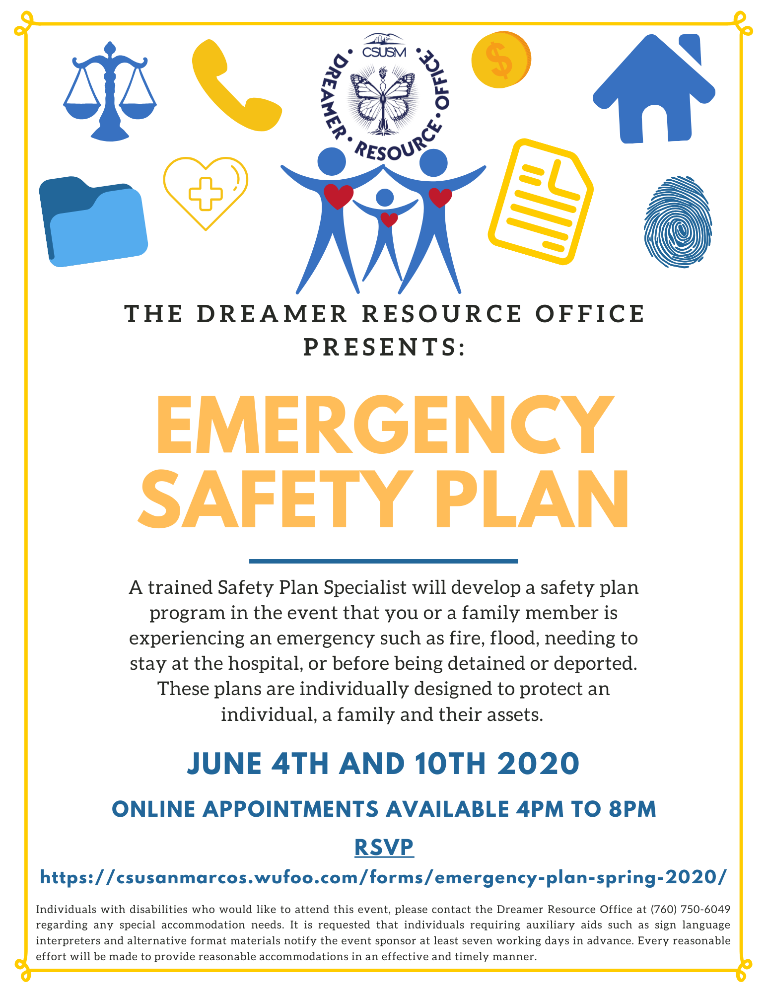 Flyer for Emergency Safety Planning