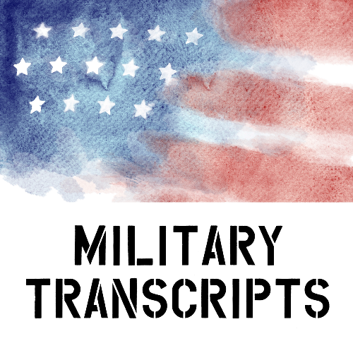 Military Transcripts