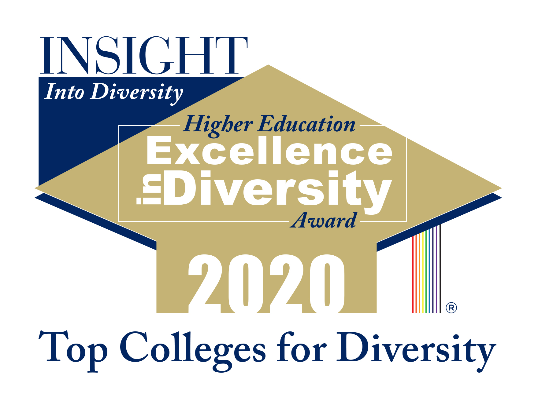 Higher Education Excellence in Diversity 2020 Award