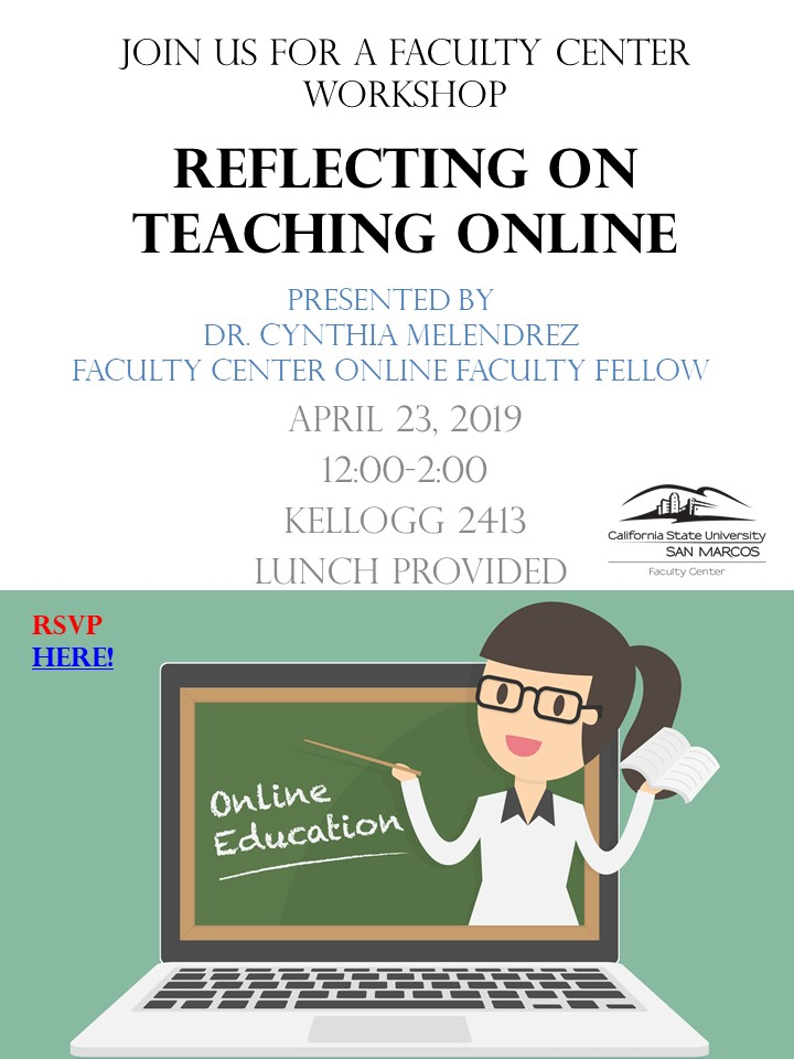 Reflecting on Teaching Online