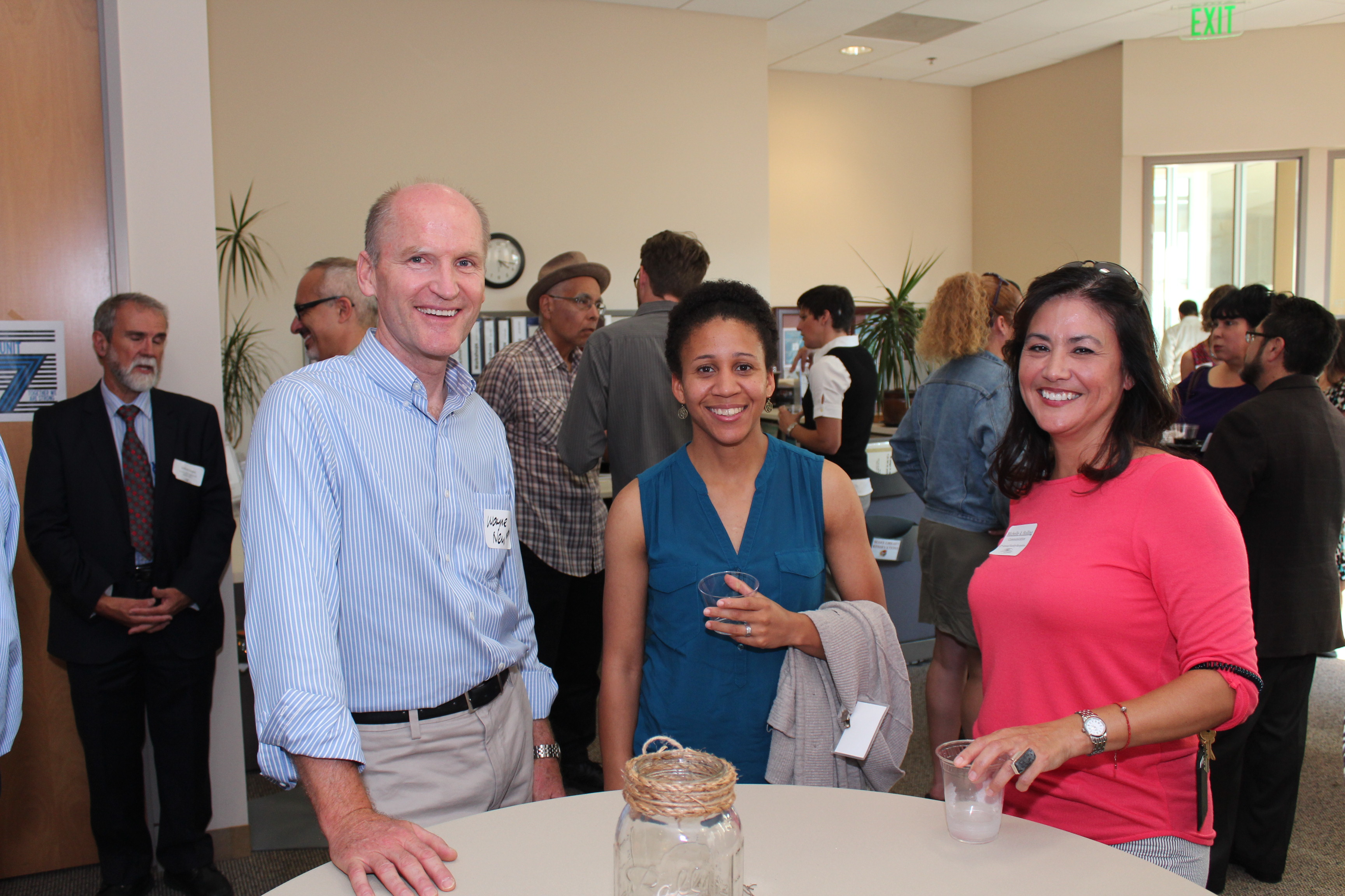 Faculty Reception