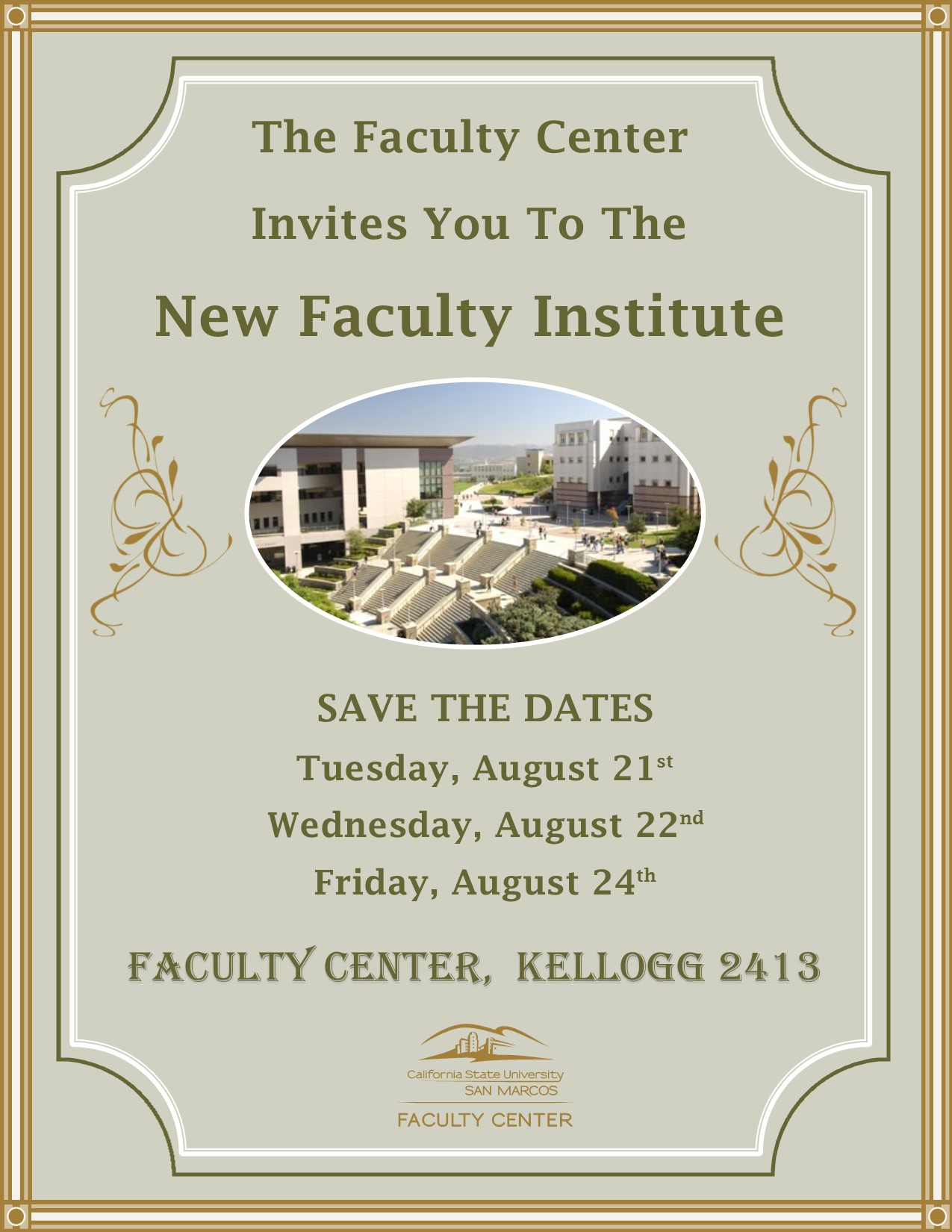 New Faculty Institute