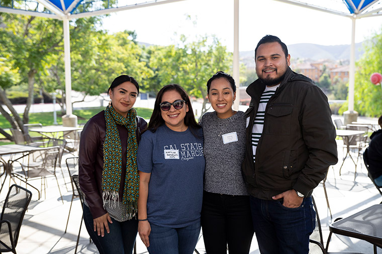 Four CSUSM employee donors