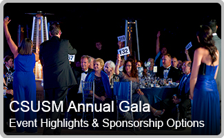 CSUSM Annual Gala, Event Highlights and Sponsorship Options