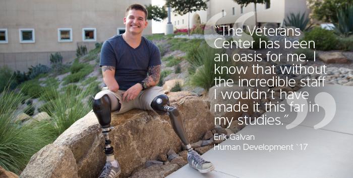 Erik Galvan, Veteran