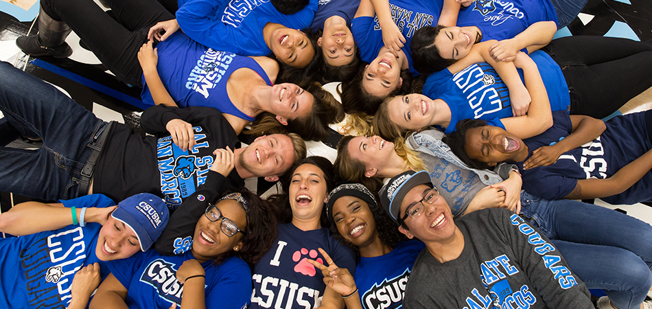 CSUSM Students Smiling