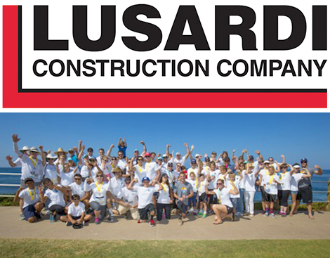 Lusardi employees with their families.