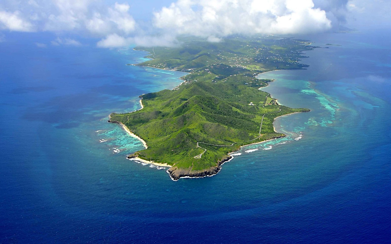 St. Croix Aerial View