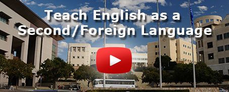 Teach English as a Second / Foreign Language