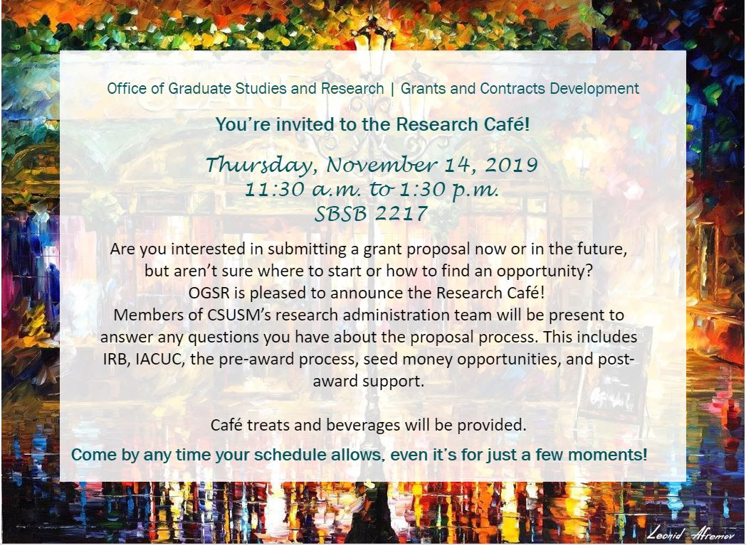 ogsr research cafe