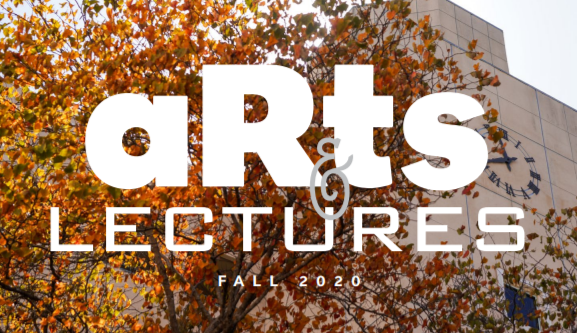 arts  and lectures logo