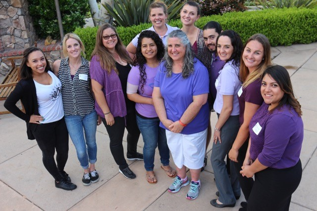 CSUSM Sr. Experience students with DLH Foundation Staff