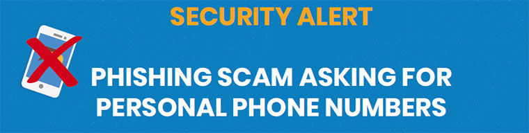 Security Alert: Phishing Scam