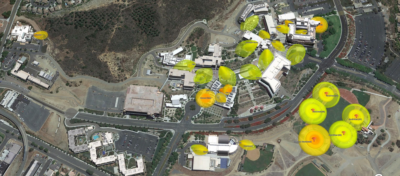 CSUSM Outdoor AP location
