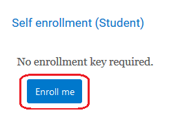 enroll me button
