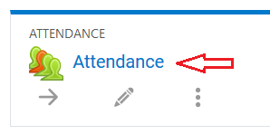 attendance link in topic