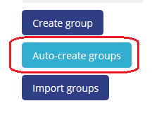 auto-create groups button