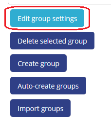edit group settings button