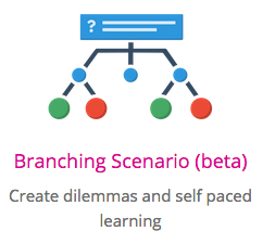 branching scenario with h5p