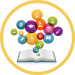 book bubble icon
