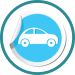 car sticker icon