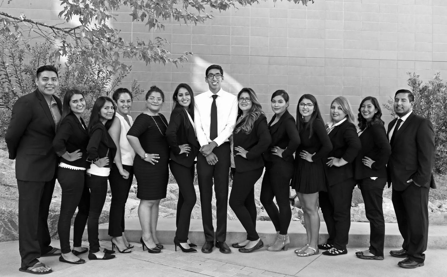 Latino business students
