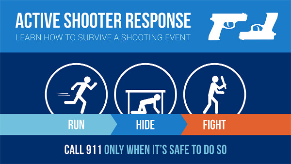 Run, Hide, Fight - Active Shooter Training