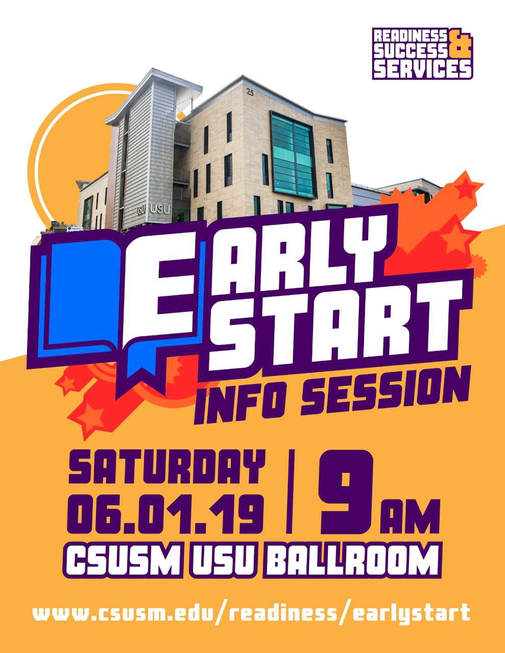 2019 Early Start Information Session