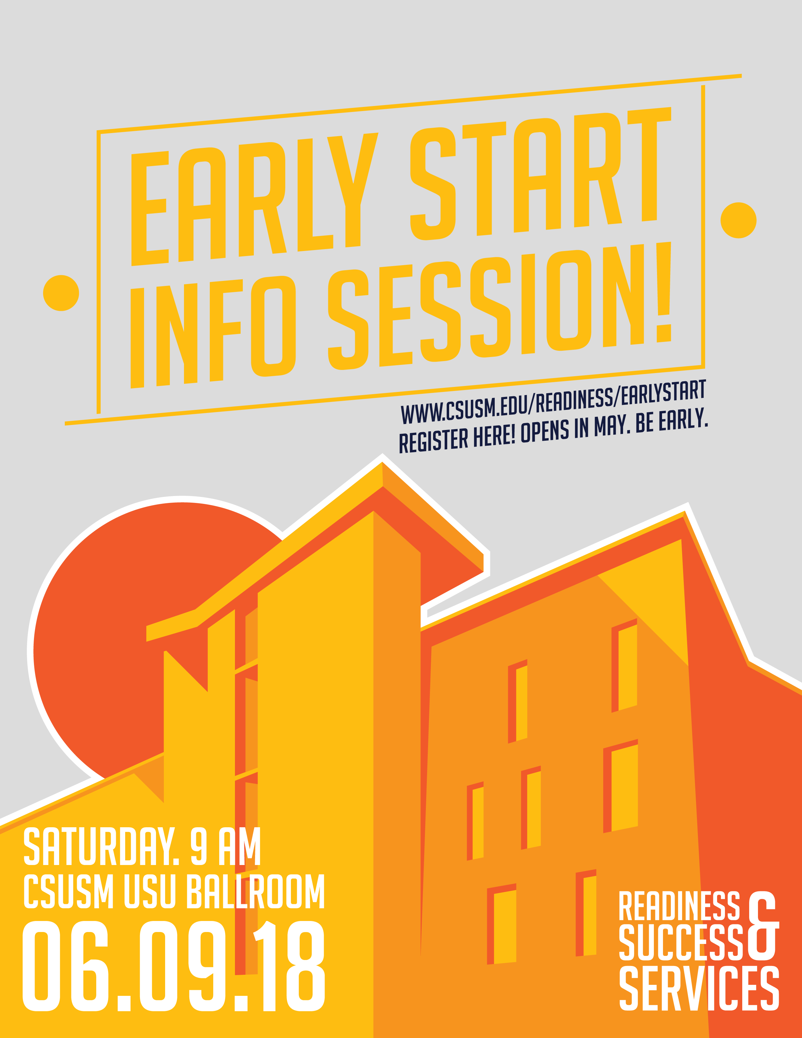 2018 Early Start Information Session