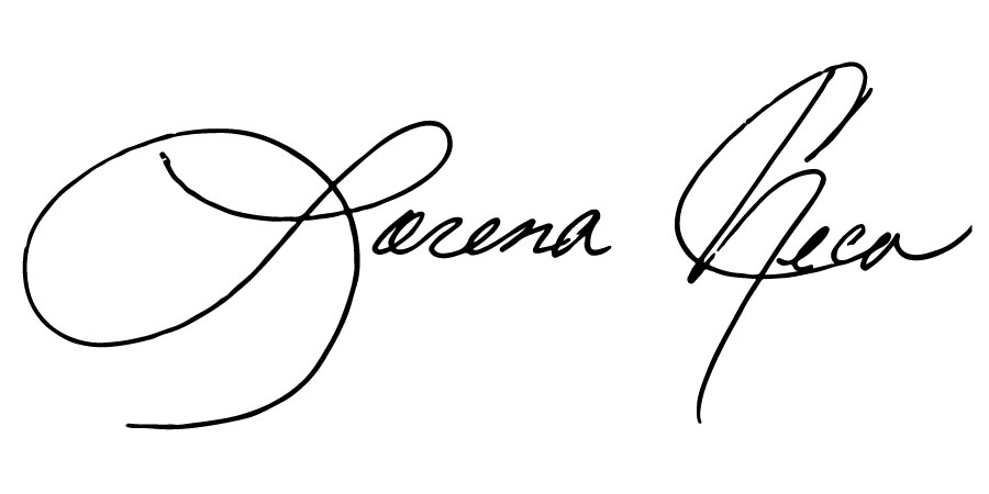 Lorena Checa's signature