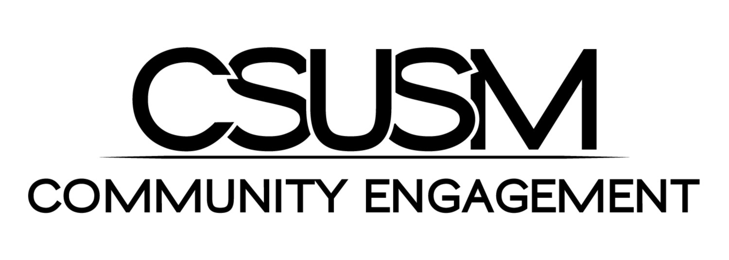 CSUSM Community Engagement logo