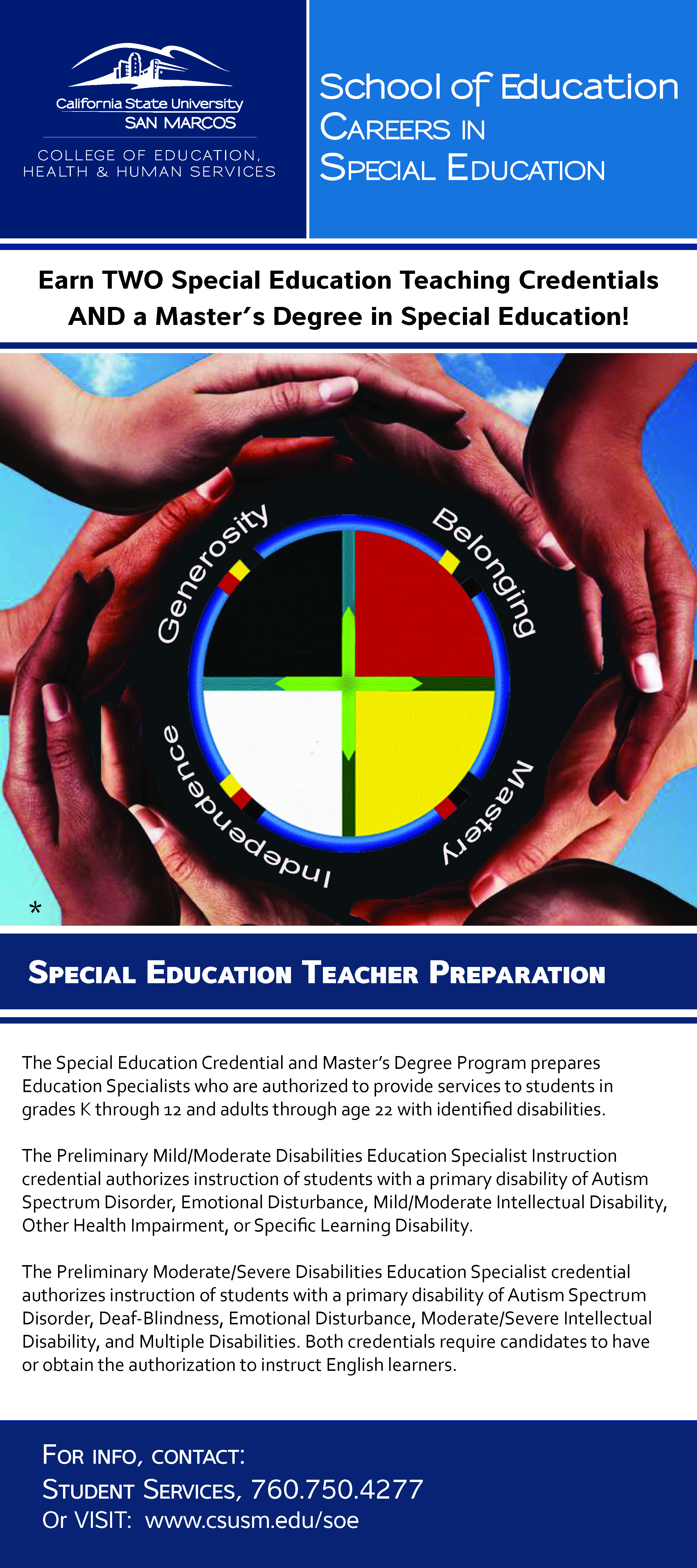 Special Education Brochure